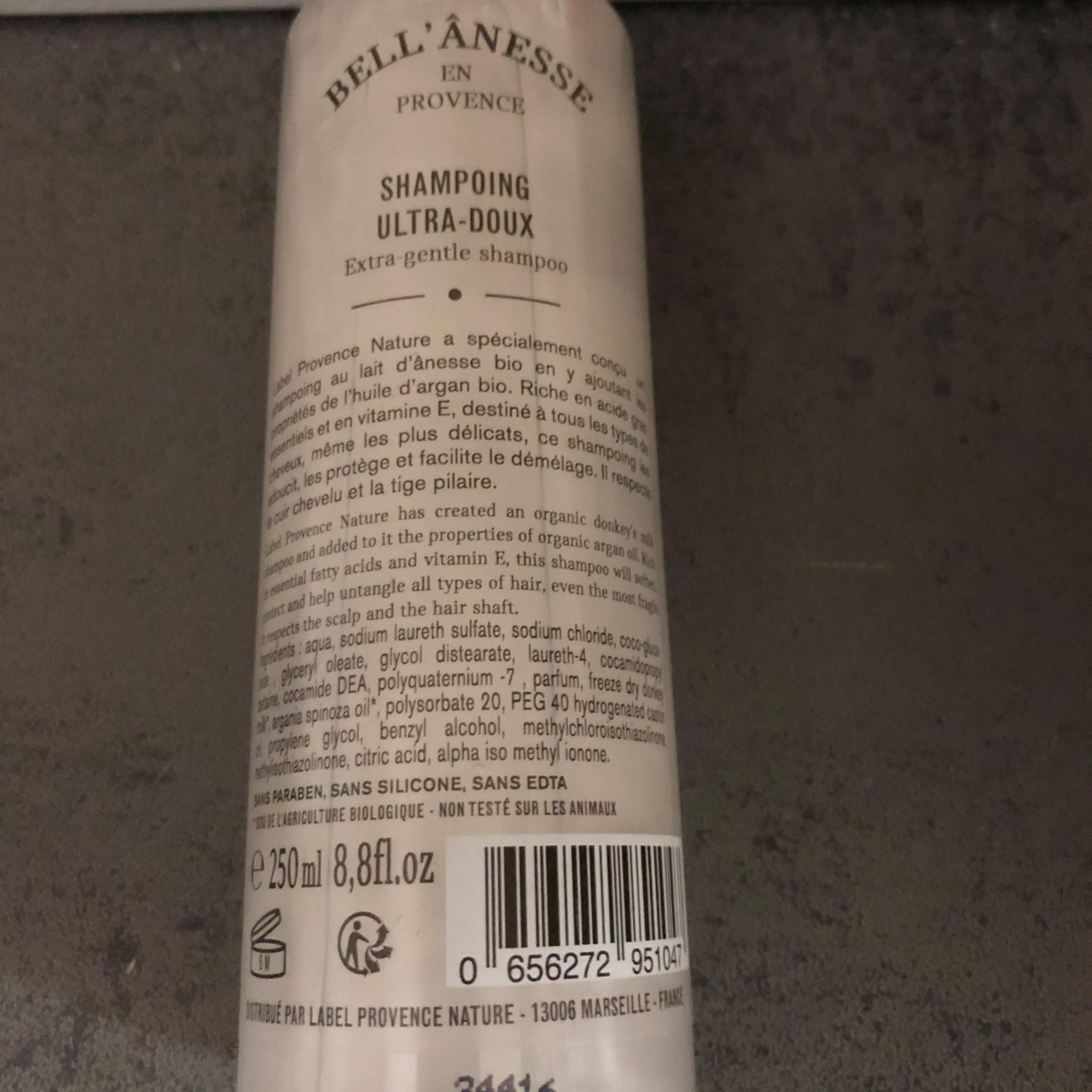 Shampooing lait d anesse composition