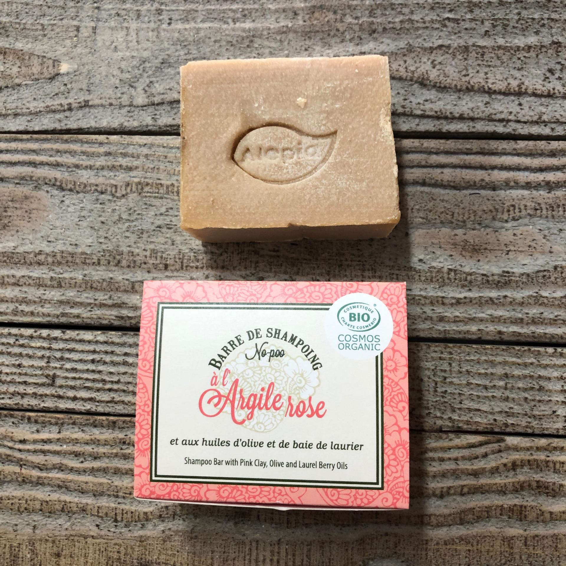 Alep shampooing solide argile rose